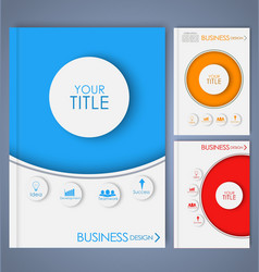 Business brochure 2 vector