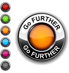 Go further button vector