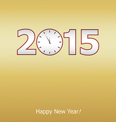New years eve card vector