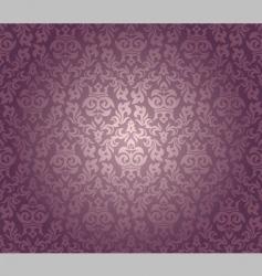 Damask wallpaper vector