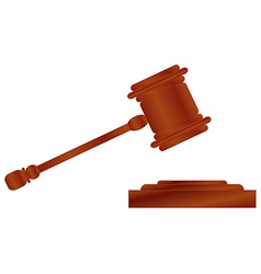Hammer of justice 1 v vector