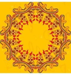 Cinco de mayo seamless pattern vector