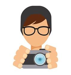 Pothographer icon vector