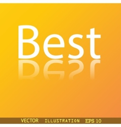Best seller icon symbol flat modern web design vector