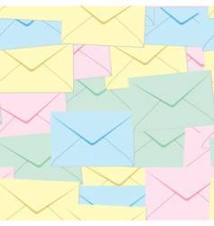 Envelopes background vector