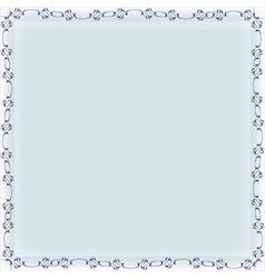 Blank frame banner template vector