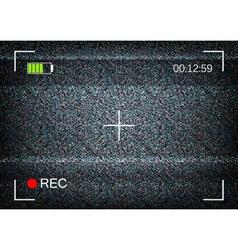 Digital camera viewfinder vector