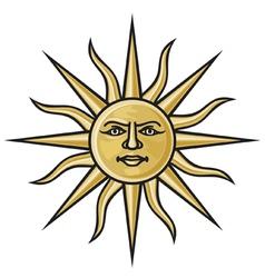 Symbol sun vector