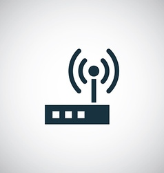 Modem icon vector