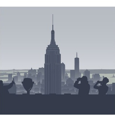 New york tourism vector