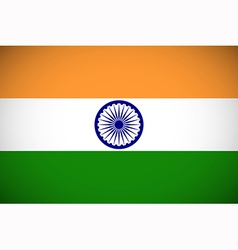 National flag of india vector