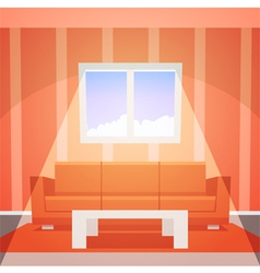 Room with window vector