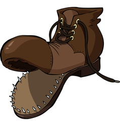 Old shoe vector