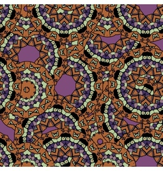 Abstract unusual mandala kaleidoscope symmetrical vector