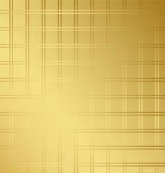 Golden checkerboard abstract background vector