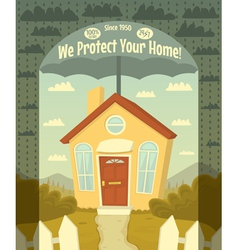 We protect your home vector
