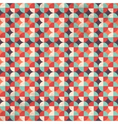Seamless geometric pattern with zigzags vector