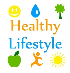 Healthy lifestyle 2 vector