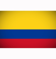 National flag of colombia vector