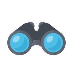 Binoculars spy glasses vector