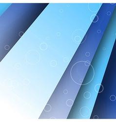 Modern layered folder template vector