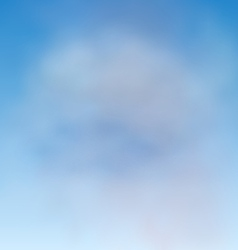 Background blue sky and clouds vector