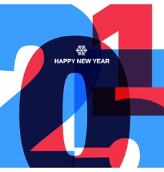 Happy new year cover design vector