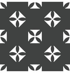 Maltese cross pattern vector