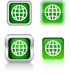 Earth icons vector