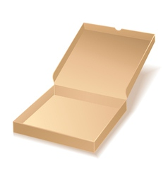Carton pizza box vector
