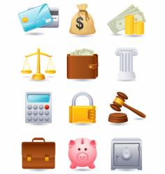 Finance icon vector