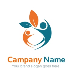 Human care logo vector