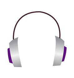 Icon headphone vector