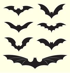 Group of bat vector