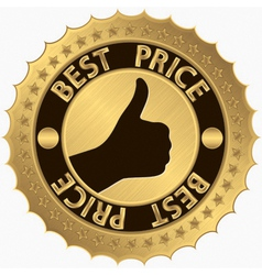 Best price guarantee golden label vector