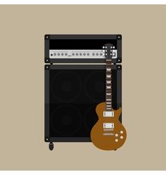 Guitar amplifier guitar 2 vector