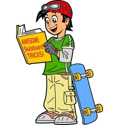 Skateboard tricks vector