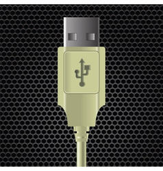 Usb cable vector
