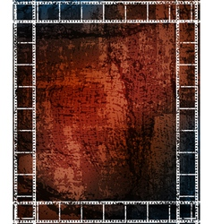 Grungy background with frames vector