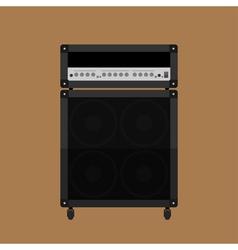Guitar amplifier 2 vector