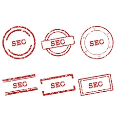 Seo stamps vector