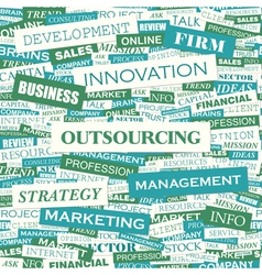 Outsourcing vector