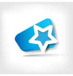 Star favorite web icon vector