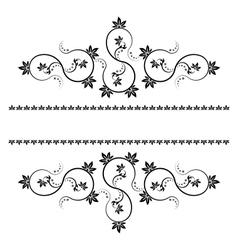 Frame with monograms for design and decorate vector