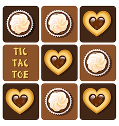 Cookiecupcake vector