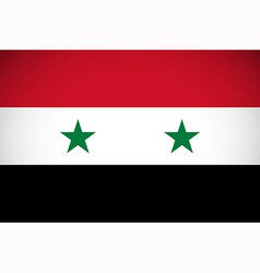 National flag of syria vector