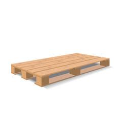 Warehouse pallet vector