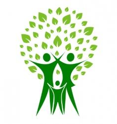 Green family vector