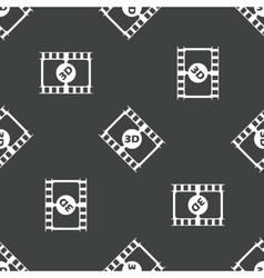 Film strip pattern vector