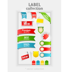 Labels collection vector